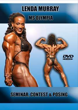 Lenda Murray - Ms. Olympia Seminar, Contest & Posing