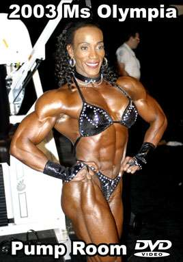 2003 Ms. Olympia Pump Room