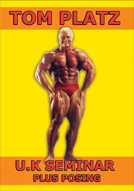 Tom Platz UK Seminar Plus Posing