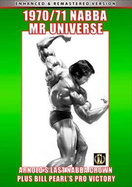 1970 & 1971 NABBA Mr Universe Contests