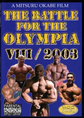 The Battle for the Olympia 2003 (DVD)
