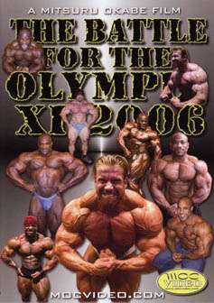 The Battle for the Olympia 2006 (DVD)