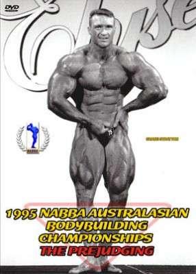 1995 NABBA Australasia - Prejudging (DVD)