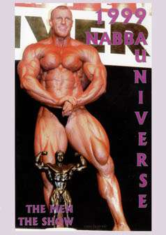 1999 NABBA Mr. Universe: Men - Show (DVD)