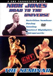 Nick Jones - Road to the Universe # 1 (DVD)