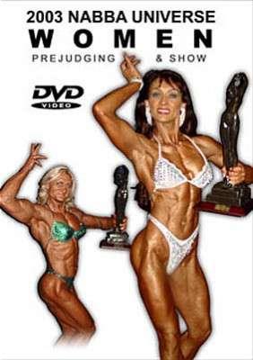 2003 NABBA Universe - Women (DVD)