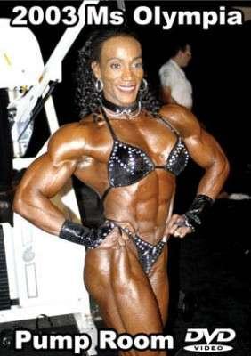 2003 Ms. Olympia Pump Room (DVD)