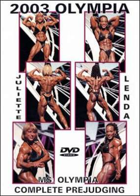 2003 Ms. Olympia Prejudging (DVD)