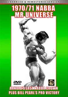 1970 and 1971 NABBA Mr. Universe (DVD)