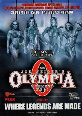 2011 Women's Olympia (DVD) - GMV Bodybuilding