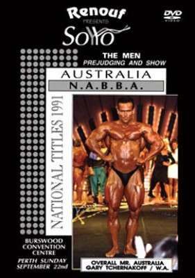 1991 NABBA Australia - Men (DVD)