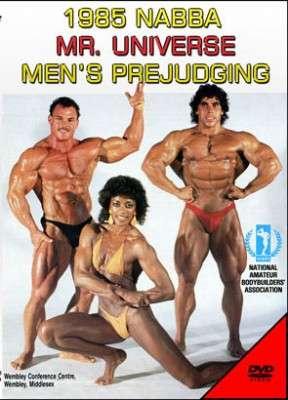 1985 NABBA Universe - Mens Prejudging (DVD)