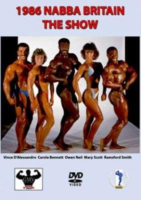 1986 NABBA Britain - Show (DVD)