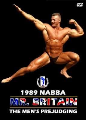 1989 NABBA Mr. Britain Prejudging