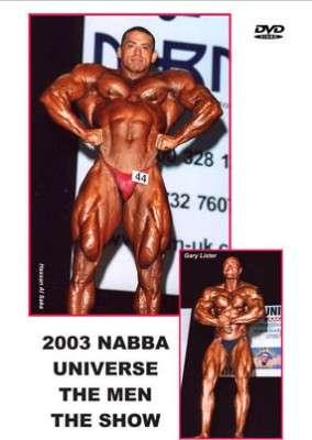 2003 NABBA Universe Men - Show DVD