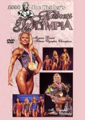 1998 Fitness Olympia & Ms. Olympia (Historic DVD)