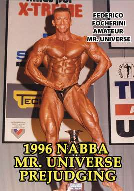 1996 NABBA Universe: Men - Prejudging (Digital Download)