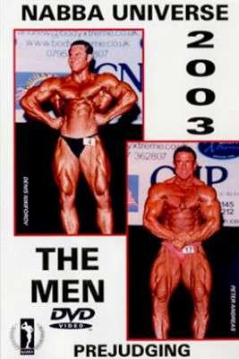 2003 NABBA Universe: Men's Prejudging DVD