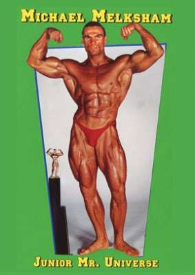 Michael Melksham - Junior Mr. Universe