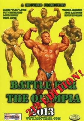 2013 Battle Olympia 212 Class DVD