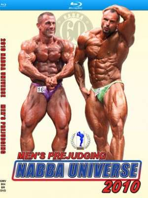 2010 NABBA Universe: Men's Prejudging (Blu-ray DVD)