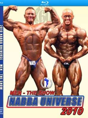 2010 NABBA Universe: The Men – The Show (Blu-ray DVD)