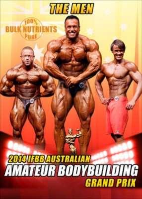 2014 IFBB Australian Amateur Bodybuilding Grand Prix:  The Men (DVD)