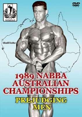 1989 NABBA Australian Championships Men's Prejudging