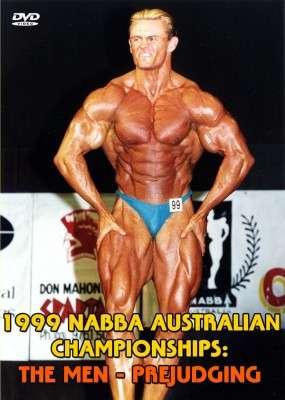 1999NABBA Australia Championships Men's Prejudging DVD