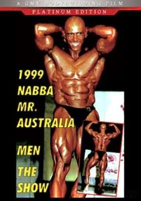 1999 NABBA Mr. Australia Show DVD