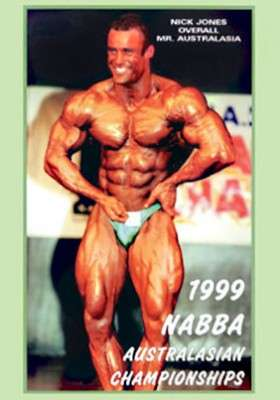1999 NABBA Australasia - Men DVD