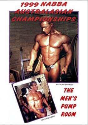 1999 NABBA Australasia Men's Pump Room DVD