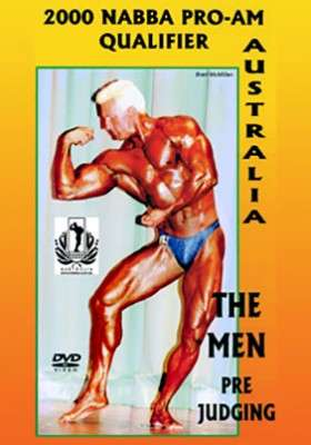 2000 NABBA Australasia: Men – Prejudging (Download)