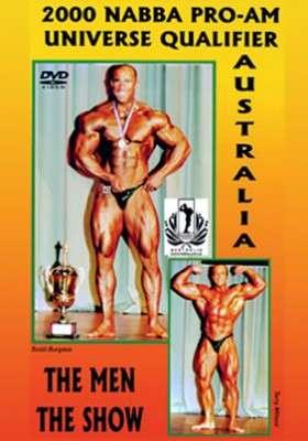 2000 NABBA Australasia: Men – Show (DVD)