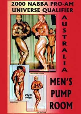 2000 NABBA Pro-Am Australasia Men's Pump Room