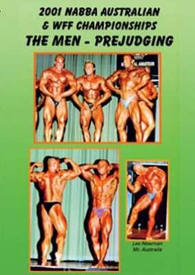 2001 NABBA/WFF Championships - Men's Prejudging