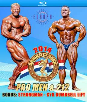 2014 Arnold Classic USA on Blu-ray