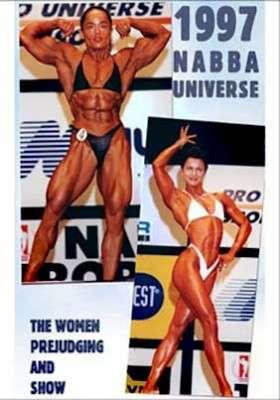 1997 NABBA Universe: women