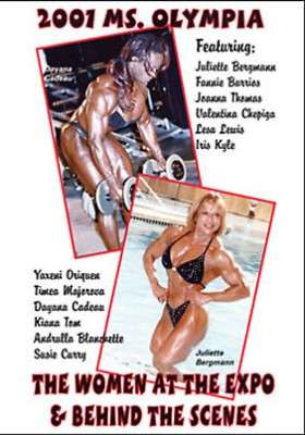 2001 Ms. Olympia: Women at the Expo