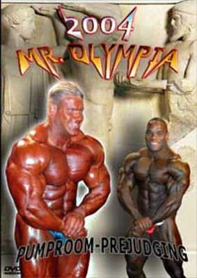 2004 Mr. Olympia Prejudging Pump Room