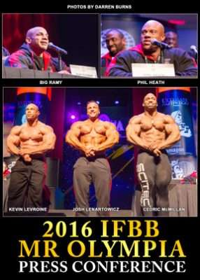 2016 Mr. Olympia Press Conference
