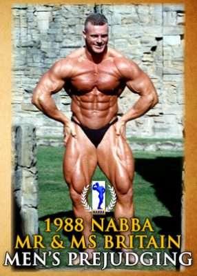1988 NABBA MEN'S prejudging