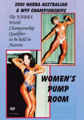 2001 NABBA Australia - Women's Pump Room