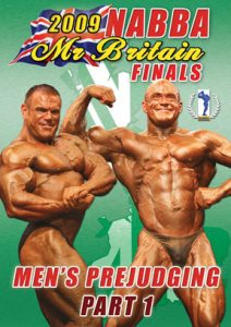 2009 NABBA Mr. Britain - Men's Prejudging Part 1