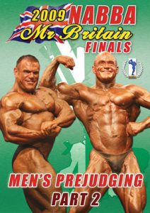 2009 NABBA Mr. Britain - Men's Prejudging Part 2