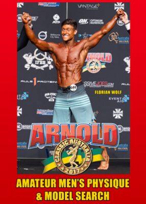 2017 Arnold Australia Amateur Men Physique and Model Search