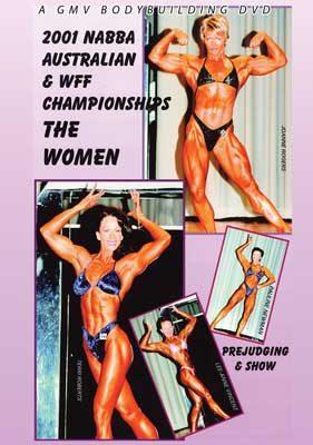 2001 NABBA Australia - Women