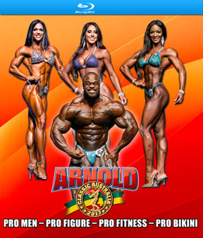 2017 Arnold Classic Australia on Blu-Ray