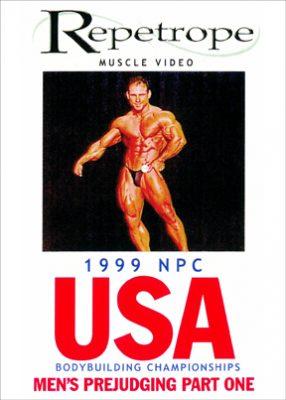 1999 NPC USA: Men's Prejudging # 1