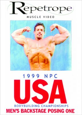 1999 NPC USA: Men's Backstage Posing # 1 DVD